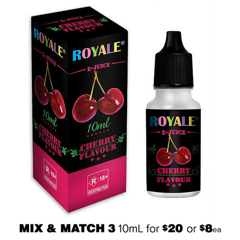 Cherry by Royale E-Juice - 10mL E-Liquid