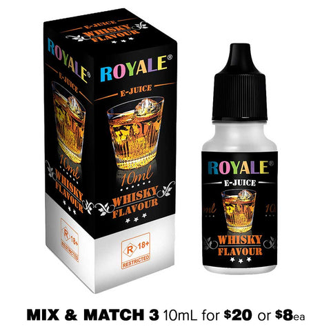 Whisky by Royale E-Juice - 10mL E-Liquid