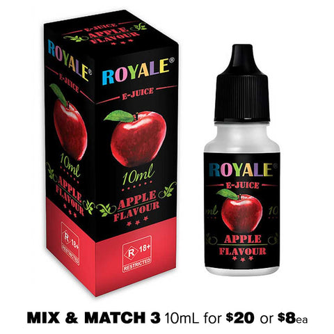 Apple by Royale E-Juice - 10mL E-Liquid