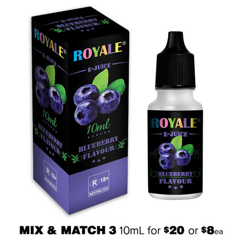 Blueberry by Royale E-Juice - 10mL E-Liquid