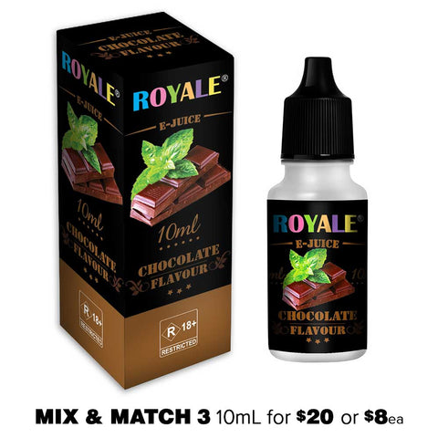 Chocolate by Royale E-Juice - 10mL E-Liquid