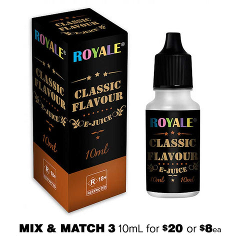 Classic Tobacco by Royale E-Juice - 10mL E-Liquid