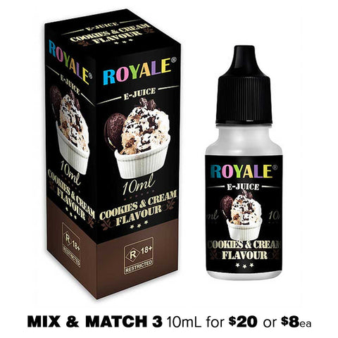 Cookies & Cream by Royale E-Juice - 10mL E-Liquid