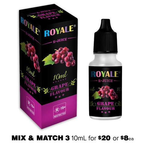 Grape by Royale E-Juice - 10mL E-Liquid