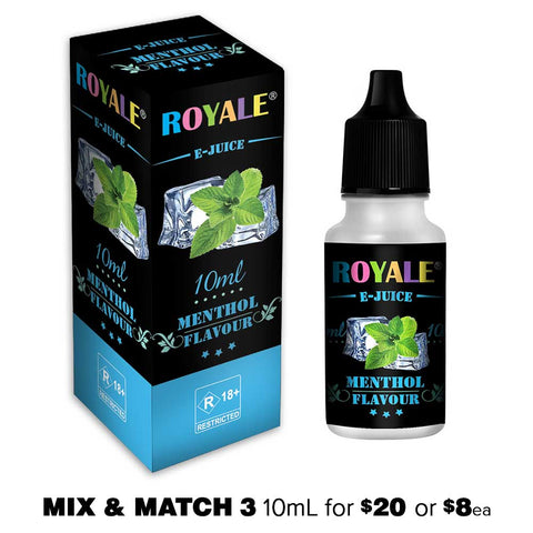 Menthol by Royale E-Juice - 10mL E-Liquid