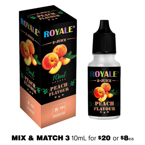 Peach by Royale E-Juice - 10mL E-Liquid