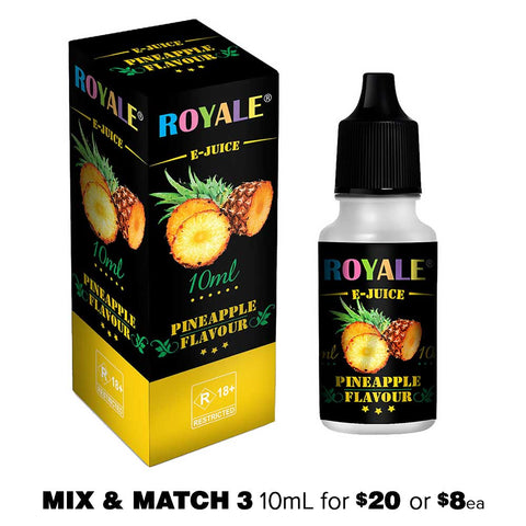 Pineapple by Royale E-Juice - 10mL E-Liquid