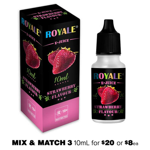 Strawberry by Royale E-Juice - 10mL E-Liquid