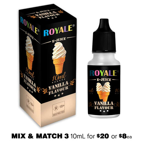 Vanilla by Royale E-Juice - 10mL E-Liquid