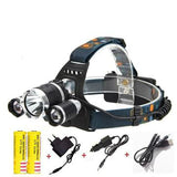 LED Headlamp - 10000 Lumen  1T6+2R5