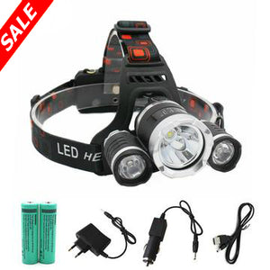 Super Headlamp - 13000 Lumen LED T6+2R5 - Save and Shop Collections