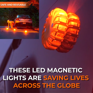 Magnetic LED Emergency Safety Flare