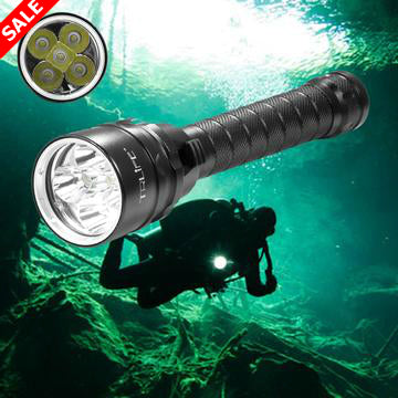 25000 Lumens Diving Flashlight