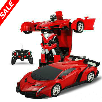 2 In 1 RC Sports Car Robot - Save and Shop Collections