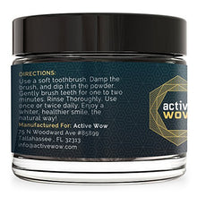 Load image into Gallery viewer, Active Wow Teeth Whitening Charcoal Powder Natural - Save and Shop Collections