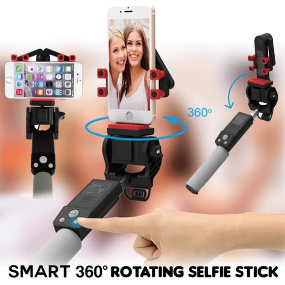 Smart 360° Rotating Selfie Stick