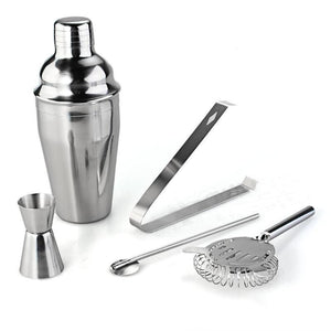 5 Piece Stainless Steel Drink Cocktail Bar Kit - Save and Shop Collections
