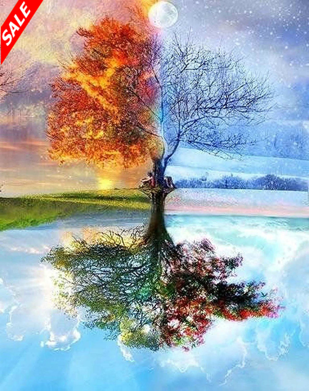 5D Diamond Painting Kit 4 Seasons - Save and Shop Collections