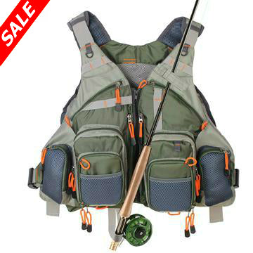 Multi-Pocket Fishing Vest - Save and Shop Collections