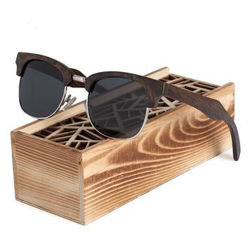 Vintage Wood Sunglasses with Wooden Box - Save and Shop Collections