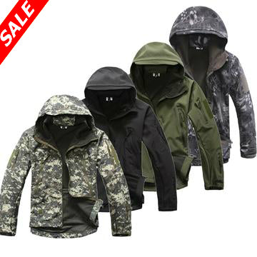 Softshell Tactical Hooded Jacket