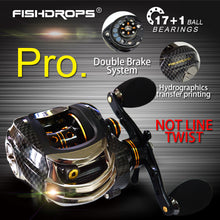 Load image into Gallery viewer, Fishdrops Bait Casting Fishing Reel - Save and Shop Collections