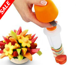 Push & Pop Fruit & Vegetable Shaper Cutter - Save and Shop Collections