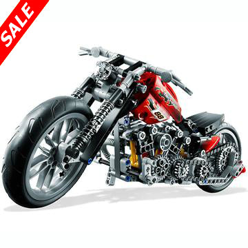 378 PC Motorcycle Harley  Model Set - Save and Shop Collections
