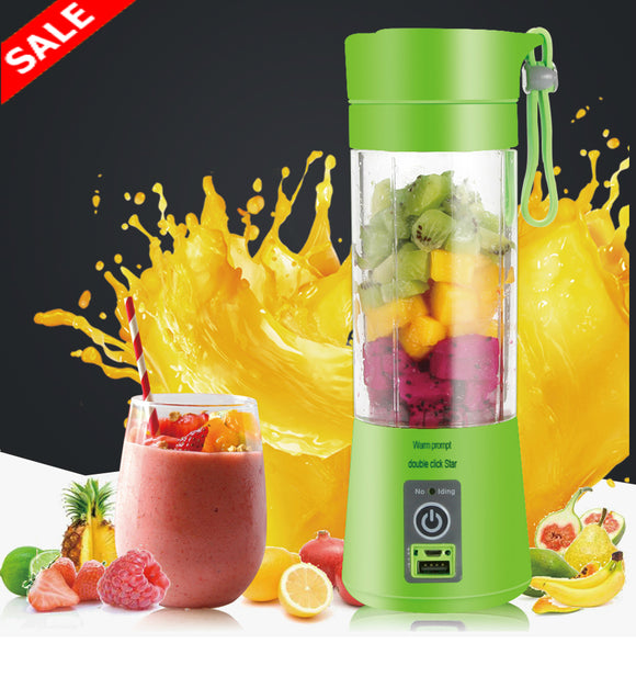 Portable USB Juicer Bottle Blender - Save and Shop Collections