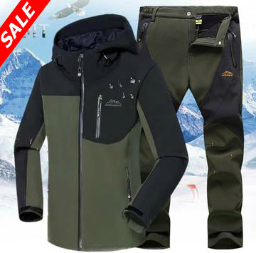 Fleece SoftShell Jacket with Pants - Save and Shop Collections