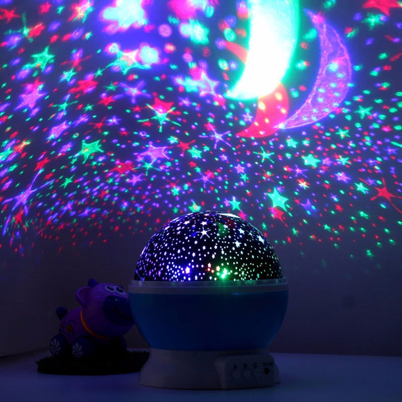 Romantic Rotating Night Light - Save and Shop Collections