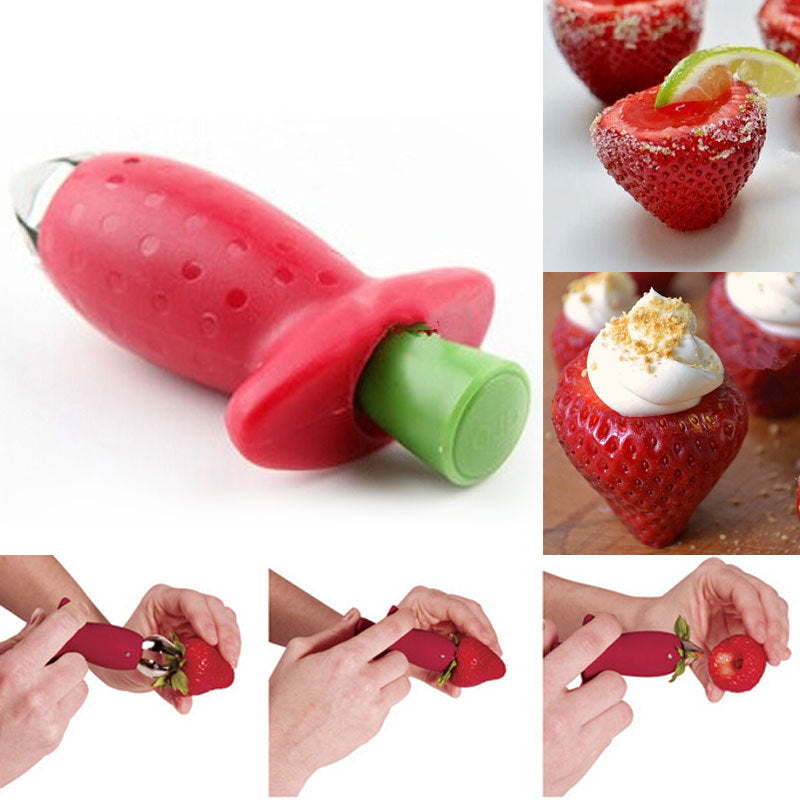 Strawberry Core Remover - Save and Shop Collections