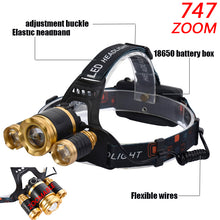 Load image into Gallery viewer, LED Headlamp - 13000 Lumen  Z20 T6 - Save and Shop Collections