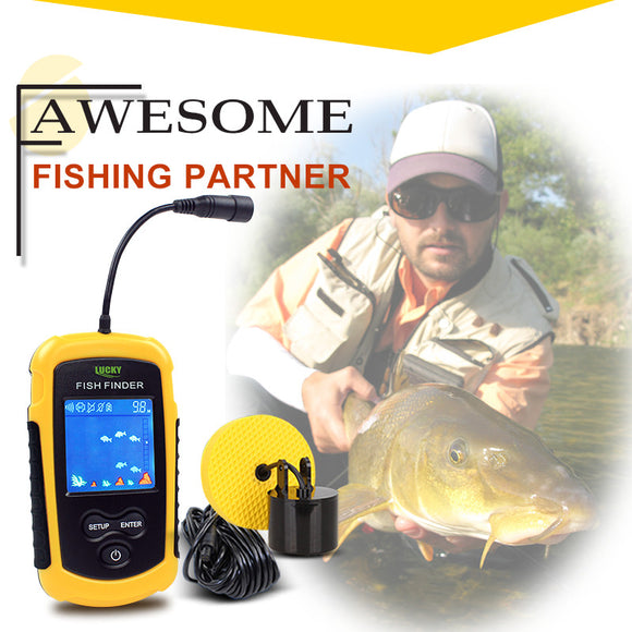 Portable Sonar LCD Fish Finder - Save and Shop Collections