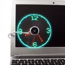 Load image into Gallery viewer, USB LED Fan Clock - Save and Shop Collections