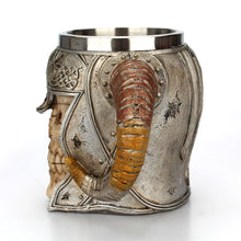 Load image into Gallery viewer, Viking Horned Skull Mug