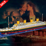 Titanic Building Block Set - 1860 Pieces - Save and Shop Collections