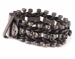 Skeleton Chain Buckle Bracelet - Save and Shop Collections