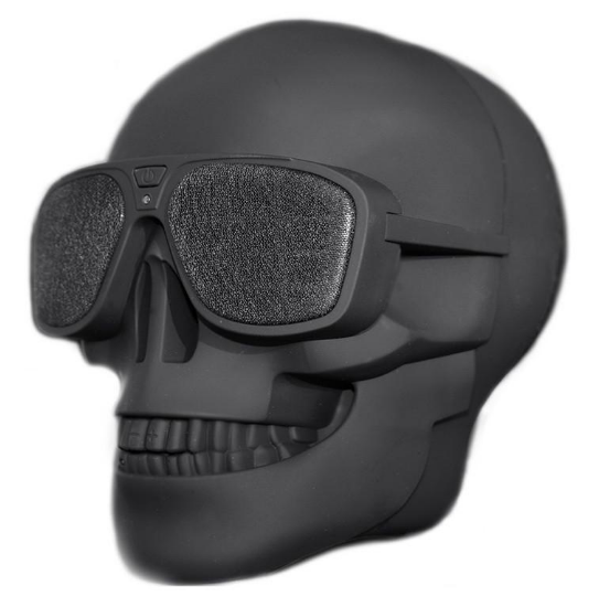 Skull Head Rechargable Wireless Bluetooth Speaker - Save and Shop Collections