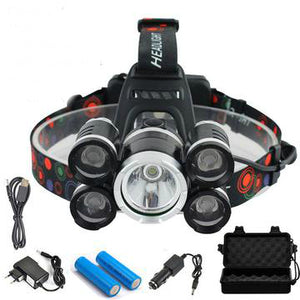 LED Headlamp - 40000 Lumen CREE XML 5 T6 - Save and Shop Collections