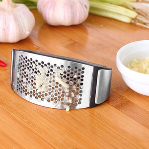 Stainless Steel Garlic Presser