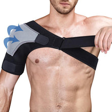Load image into Gallery viewer, 1Pcs Shoulder Brace Adjustable Shoulder Support With Pressure Pad for Injury Prevention, Sprain,Soreness,Tendinitis