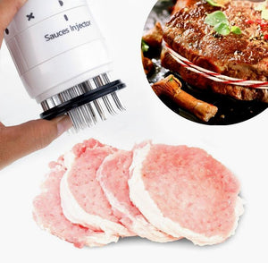 Multi Function Meat Tenderizer Needle ABS+Stainless Steel Steak Meat Injector Marinade Flavor Syringe Kitchen Gadgets Meat Tools