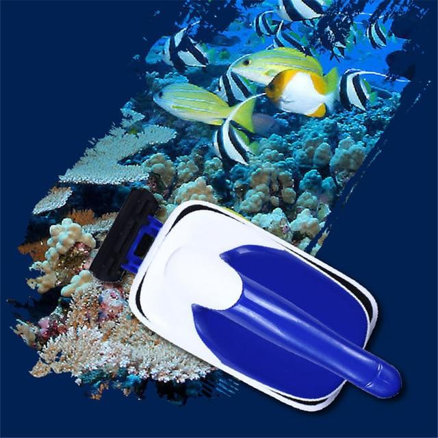 Aquarium Practical Floating Magnetic Brush Fish Tank Glass Algae Scraper Aquarium Window Cleaning Tool Cleaner Magnets Brush