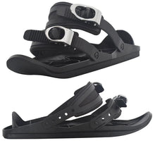 Load image into Gallery viewer, Mini Ski Skates Snow Shoes Mini Ski Skates for Snow The Short Skiboard Snowblades