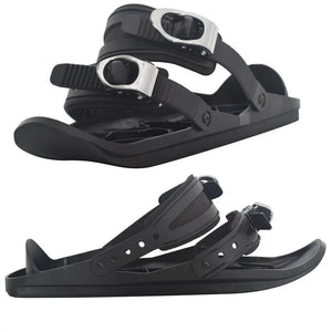 Mini Ski Skates Snow Shoes Mini Ski Skates for Snow The Short Skiboard Snowblades