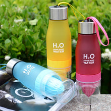 Load image into Gallery viewer, H2O Fruit Infusion Water Bottle