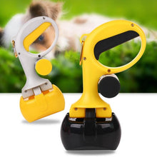 Load image into Gallery viewer, Portable Shit Pickup Remover Pooper Bags 1 Set Pet Products 2 In 1 Pet Pooper Scooper Outdoor Waste Cleaning Poop Pick Up Holder
