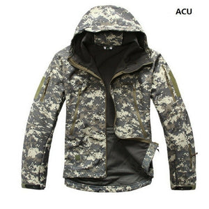Softshell Tactical Hooded Jacket - Save and Shop Collections
