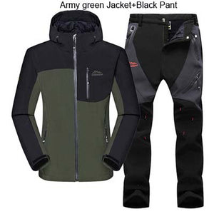 Fleece SoftShell Jacket with Pants